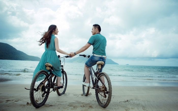 a-bike-ride-on-the-beach How Can I Lower My Cholesterol?
