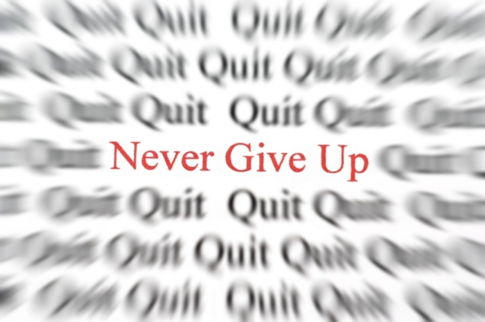 never_give_up How to Improve Your English Easily & Quickly without Exercises