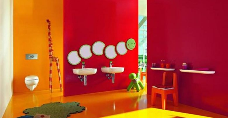 Photo of 46+ Awesome & Dazzling Kids' Bathroom Design Ideas 2019
