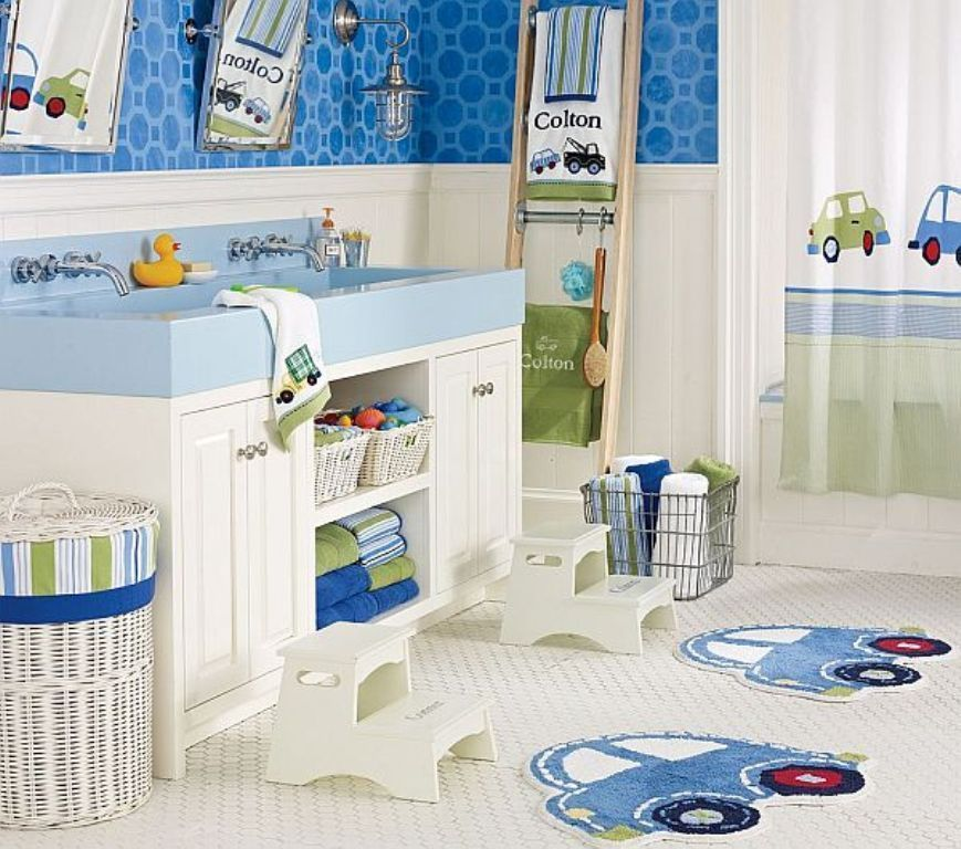 35-Awesome-Dazzling-Kids'-Bathroom-Design-Ideas-2015-13 46+ Awesome & Dazzling Kids' Bathroom Design Ideas 2019