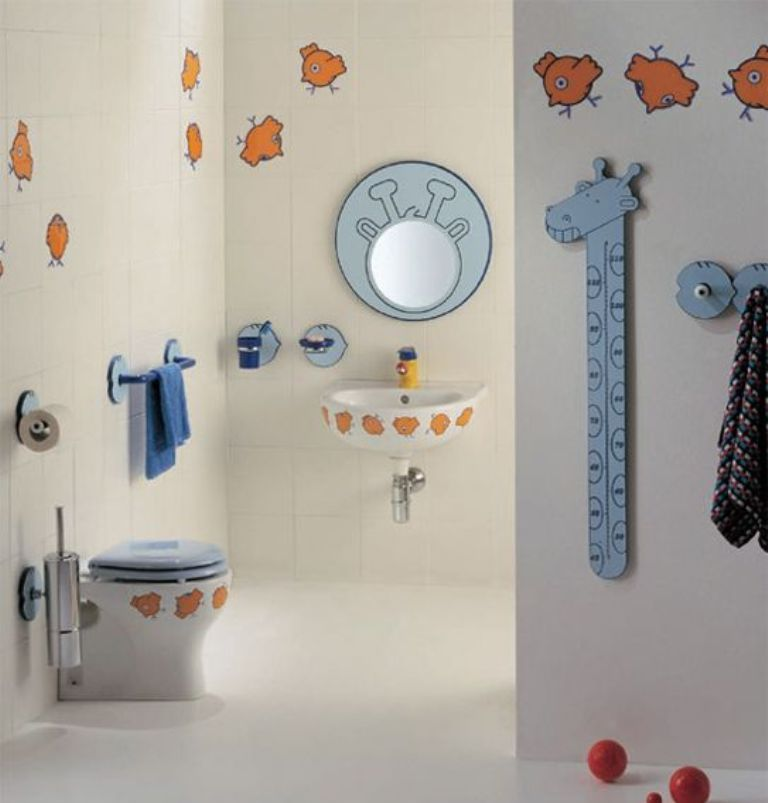 35-Awesome-Dazzling-Kids'-Bathroom-Design-Ideas-2015-15 46+ Awesome & Dazzling Kids' Bathroom Design Ideas 2019