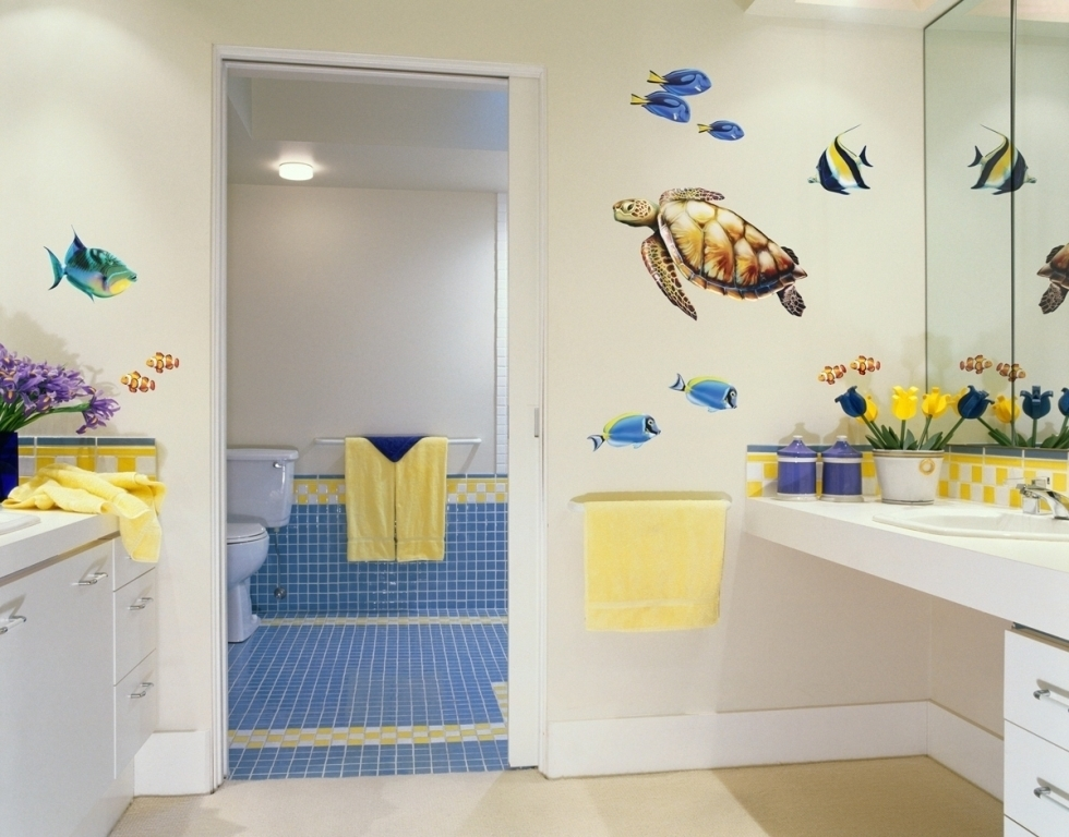 35-Awesome-Dazzling-Kids'-Bathroom-Design-Ideas-2015-19 46+ Awesome & Dazzling Kids' Bathroom Design Ideas 2019