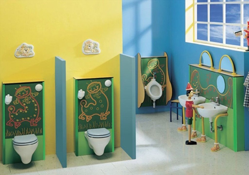 35-Awesome-Dazzling-Kids'-Bathroom-Design-Ideas-2015-20 46+ Awesome & Dazzling Kids' Bathroom Design Ideas 2019