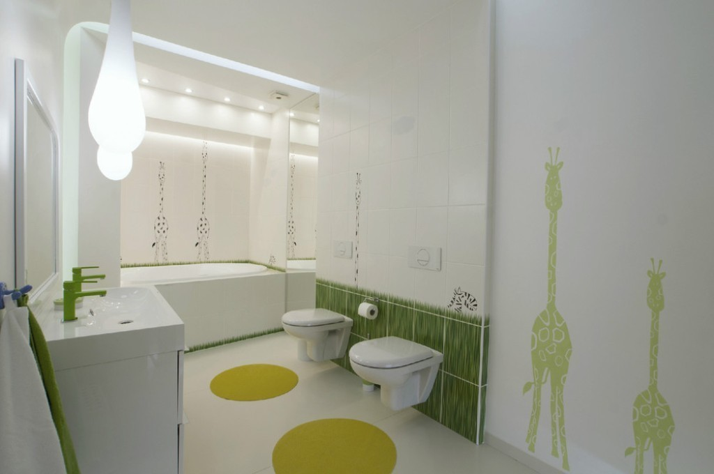 35-Awesome-Dazzling-Kids'-Bathroom-Design-Ideas-2015-21 46+ Awesome & Dazzling Kids' Bathroom Design Ideas 2019