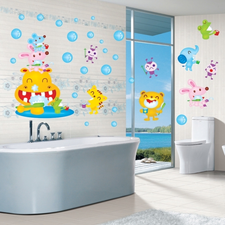 35-Awesome-Dazzling-Kids'-Bathroom-Design-Ideas-2015-22 46+ Awesome & Dazzling Kids' Bathroom Design Ideas 2019