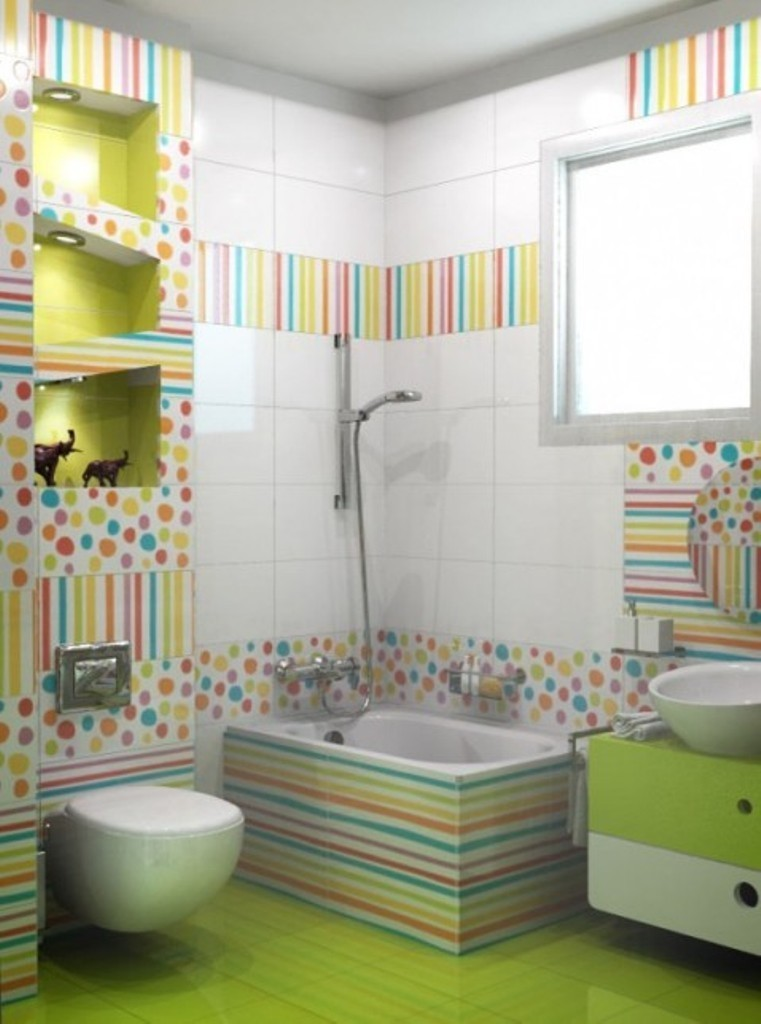 35-Awesome-Dazzling-Kids'-Bathroom-Design-Ideas-2015-24 46+ Awesome & Dazzling Kids' Bathroom Design Ideas 2019