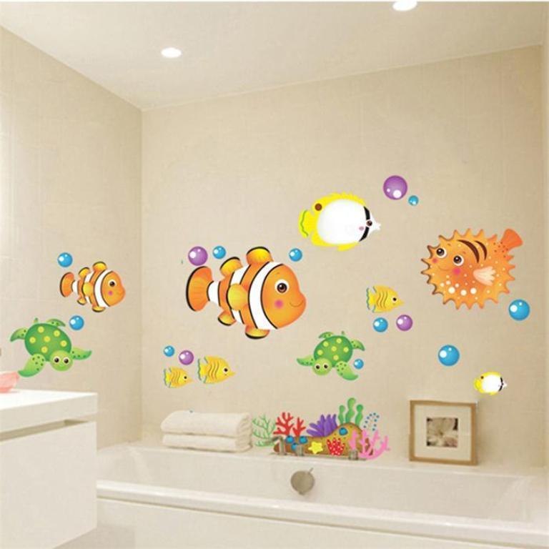 35-Awesome-Dazzling-Kids'-Bathroom-Design-Ideas-2015-28 46+ Awesome & Dazzling Kids' Bathroom Design Ideas 2019