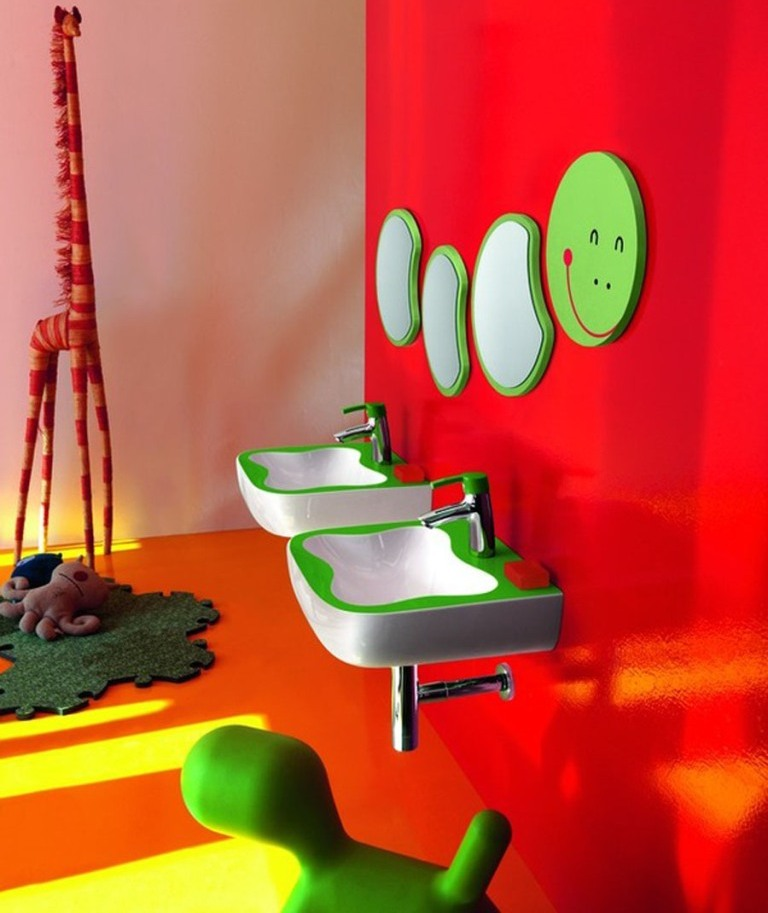 35-Awesome-Dazzling-Kids'-Bathroom-Design-Ideas-2015-5 46+ Awesome & Dazzling Kids' Bathroom Design Ideas 2019