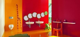 46 Awesome & Dazzling Kids' Bathroom Design Ideas 2015