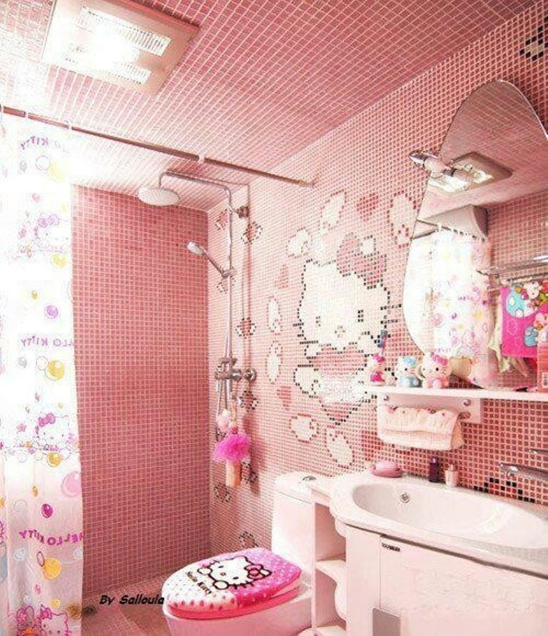 46 awesome dazzling kids bathroom design ideas 2015 for Latest bathroom ideas 2015