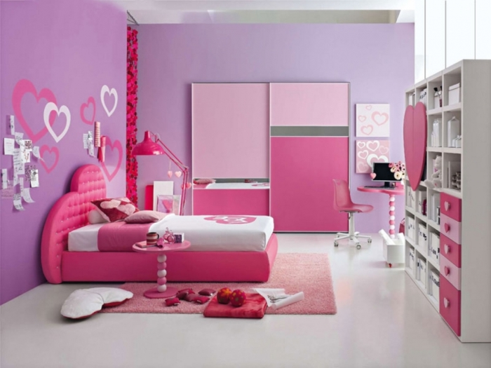 35-Awesome-Dazzling-Teens'-Bedroom-Design-Ideas-2015-15 11 Tips on Mixing Antique and Modern Décor Styles