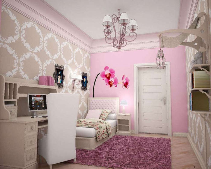 35-Awesome-Dazzling-Teens'-Bedroom-Design-Ideas-2015-19 11 Tips on Mixing Antique and Modern Décor Styles
