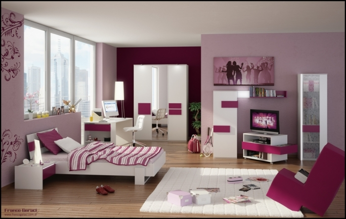 35-Awesome-Dazzling-Teens'-Bedroom-Design-Ideas-2015-2 34 Awesome & Dazzling Teens' Bedroom Design Ideas 2019 ... [UPDATED]