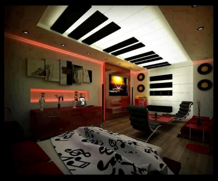 35-Awesome-Dazzling-Teens'-Bedroom-Design-Ideas-2015-20 34 Awesome & Dazzling Teens' Bedroom Design Ideas