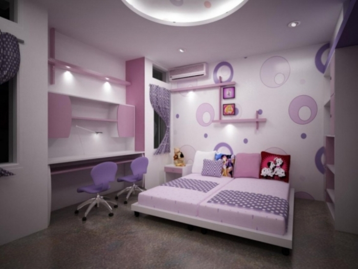 35-Awesome-Dazzling-Teens'-Bedroom-Design-Ideas-2015-24 34 Awesome & Dazzling Teens' Bedroom Design Ideas 2017 ... [UPDATED]