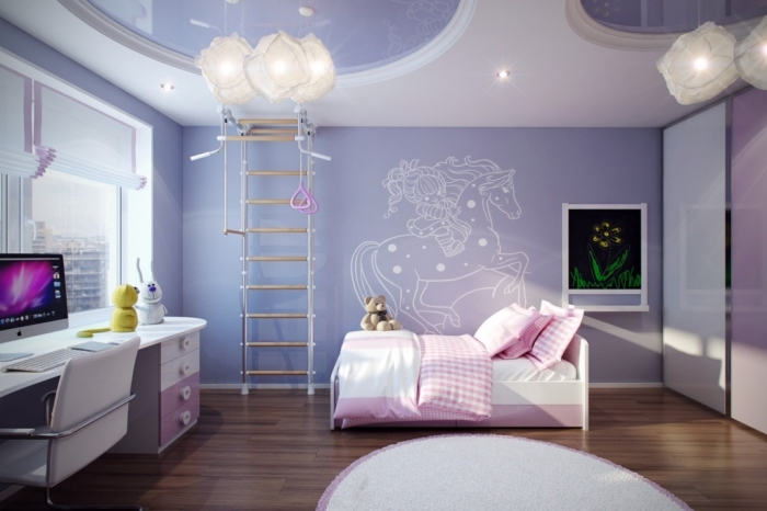 35-Awesome-Dazzling-Teens'-Bedroom-Design-Ideas-2015-32 11 Tips on Mixing Antique and Modern Décor Styles