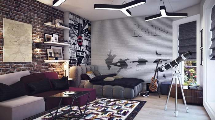 35-Awesome-Dazzling-Teens'-Bedroom-Design-Ideas-2015-35 11 Tips on Mixing Antique and Modern Décor Styles