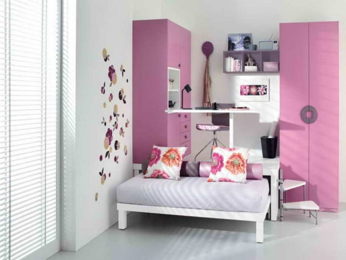 35-Awesome-Dazzling-Teens'-Bedroom-Design-Ideas-2015-4 11 Tips on Mixing Antique and Modern Décor Styles