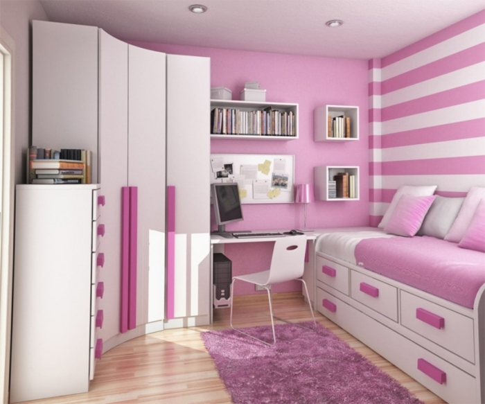 35-Awesome-Dazzling-Teens'-Bedroom-Design-Ideas-2015-5 11 Tips on Mixing Antique and Modern Décor Styles