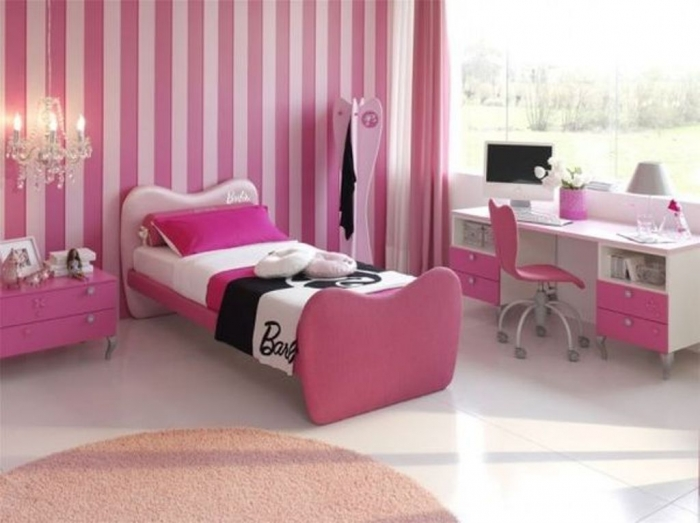 35-Awesome-Dazzling-Teens'-Bedroom-Design-Ideas-2015-6 11 Tips on Mixing Antique and Modern Décor Styles