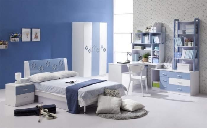 35-Awesome-Dazzling-Teens'-Bedroom-Design-Ideas-2015-7 11 Tips on Mixing Antique and Modern Décor Styles
