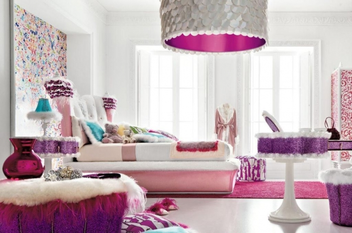 35-Awesome-Dazzling-Teens'-Bedroom-Design-Ideas-2015-9 11 Tips on Mixing Antique and Modern Décor Styles