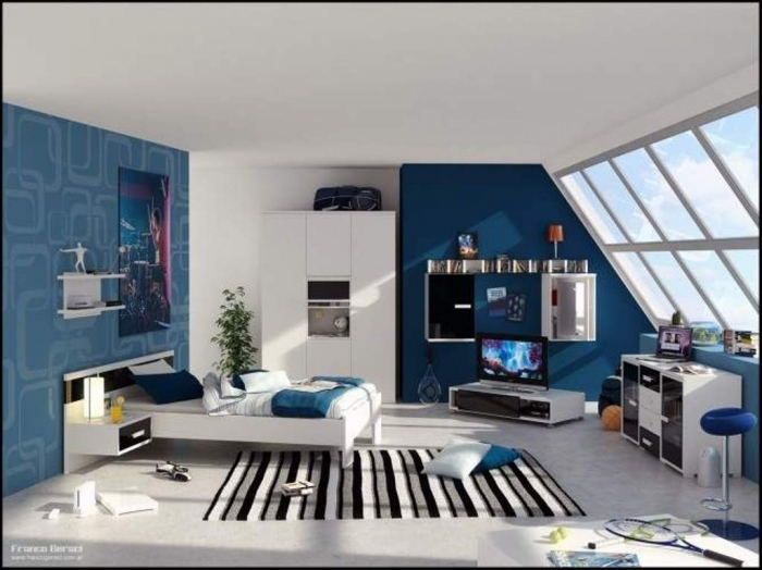 35 Awesome & Dazzling Teens' Bedroom Design Ideas 2015 (10)