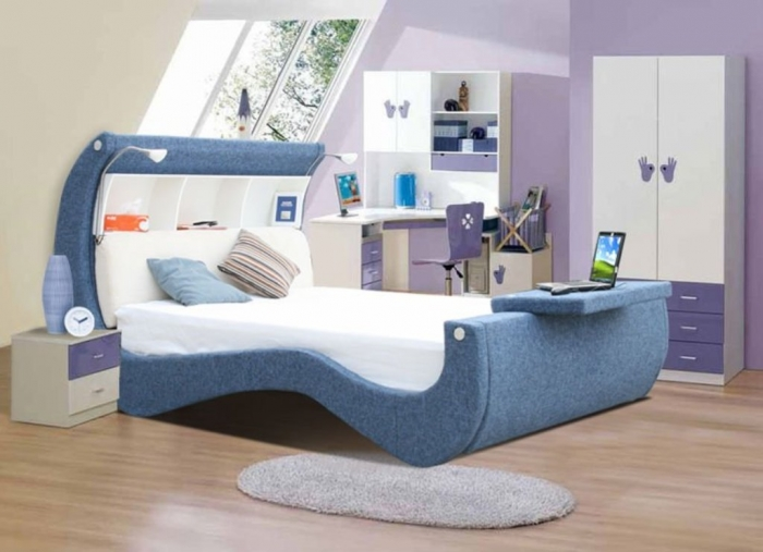 35 Awesome & Dazzling Teens' Bedroom Design Ideas 2015 (11)