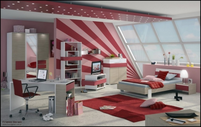 35 Awesome & Dazzling Teens' Bedroom Design Ideas 2015 (23)