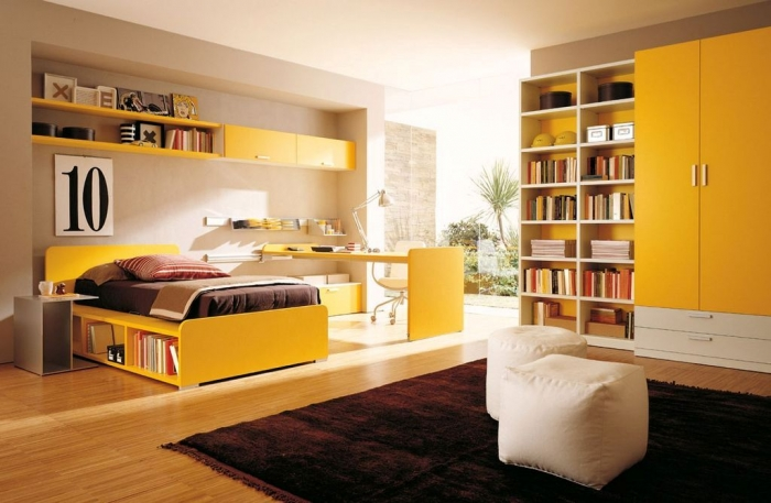35 Awesome & Dazzling Teens' Bedroom Design Ideas 2015