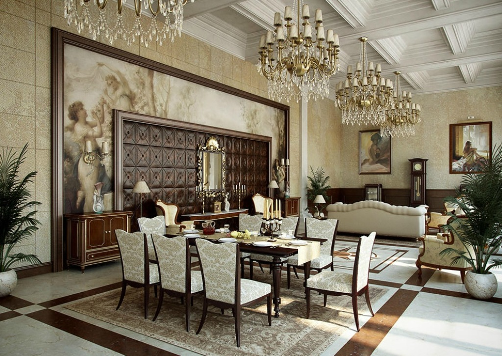 35-Breathtaking-Awesome-Dining-Room-Design-Ideas-2015-1 37 Breathtaking & Awesome Dining Room Design Ideas 2019