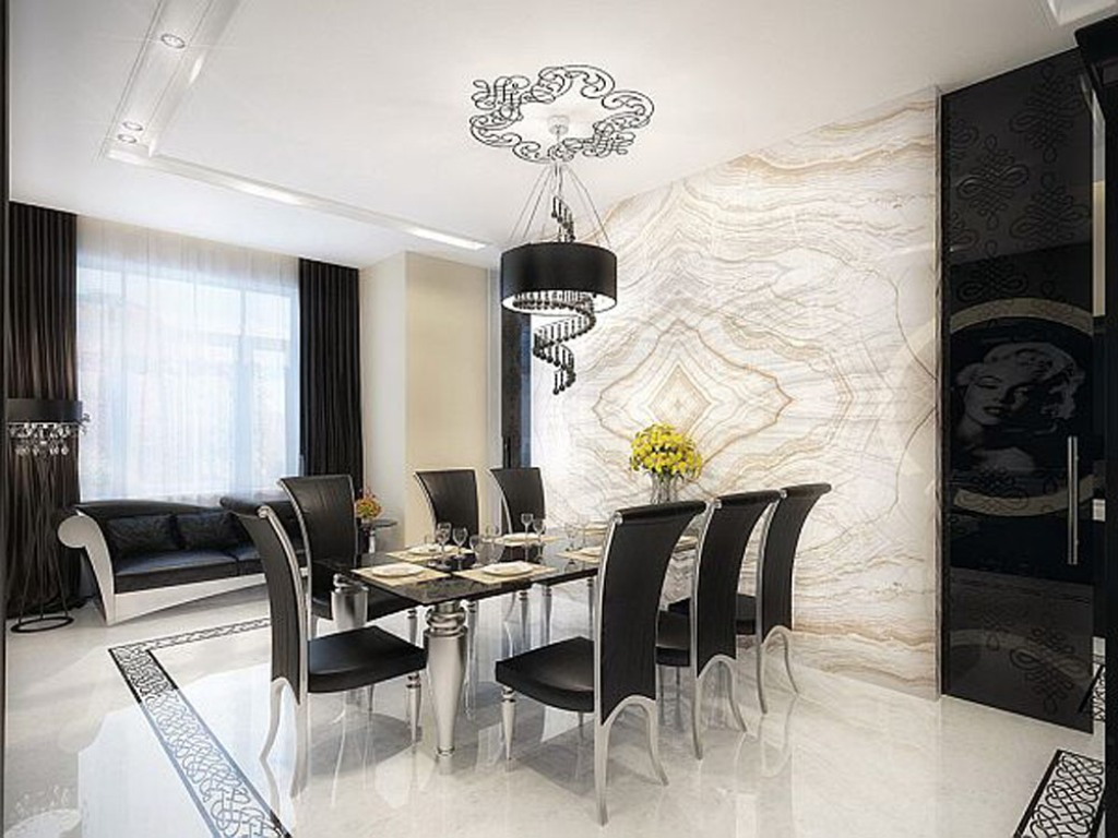 35-Breathtaking-Awesome-Dining-Room-Design-Ideas-2015-14 37 Breathtaking & Awesome Dining Room Design Ideas 2019