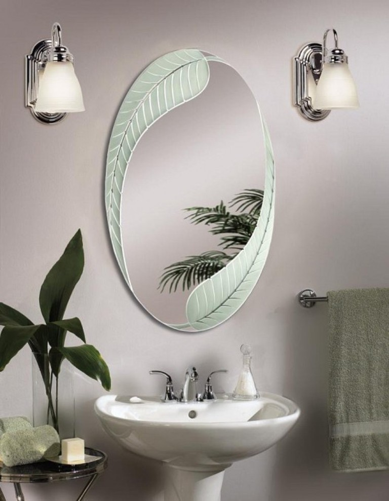 35-Charming-Fabulous-Bathroom-Mirror-Designs-2015-15 50+ Charming & Fabulous Bathroom Mirror Designs 2020