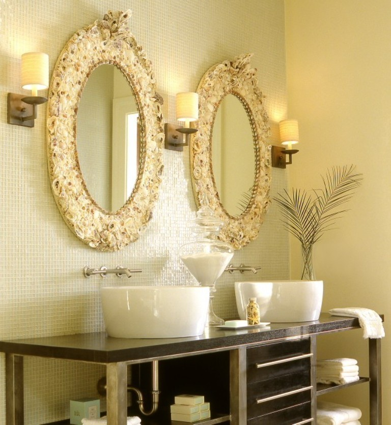 35-Charming-Fabulous-Bathroom-Mirror-Designs-2015-23 50+ Charming & Fabulous Bathroom Mirror Designs 2020
