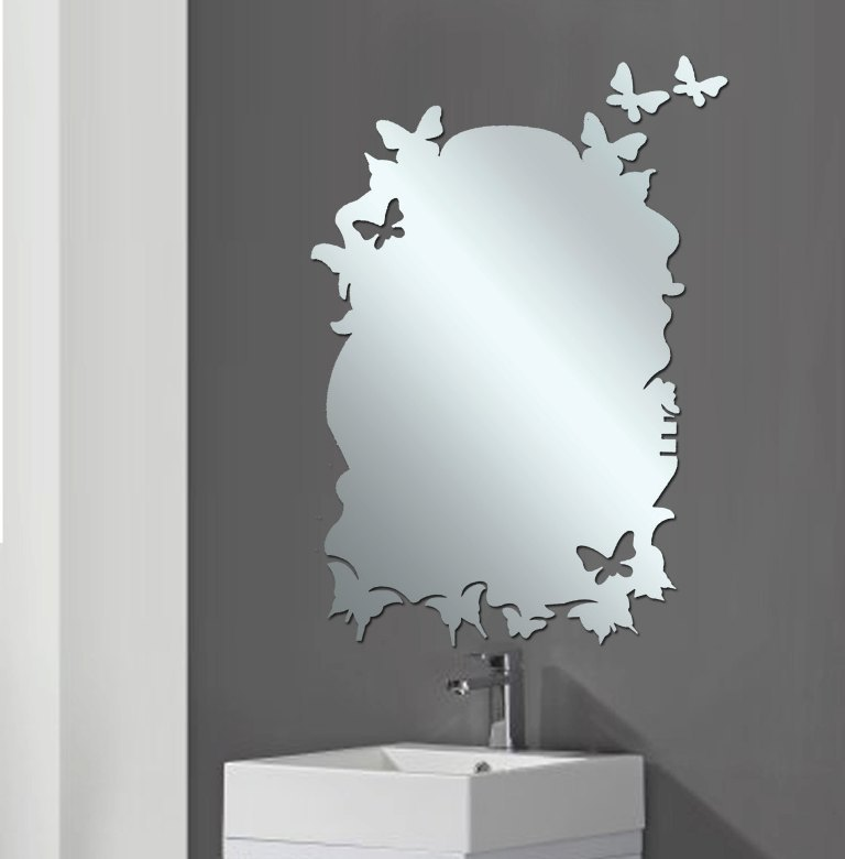 35-Charming-Fabulous-Bathroom-Mirror-Designs-2015-26 50+ Charming & Fabulous Bathroom Mirror Designs 2020