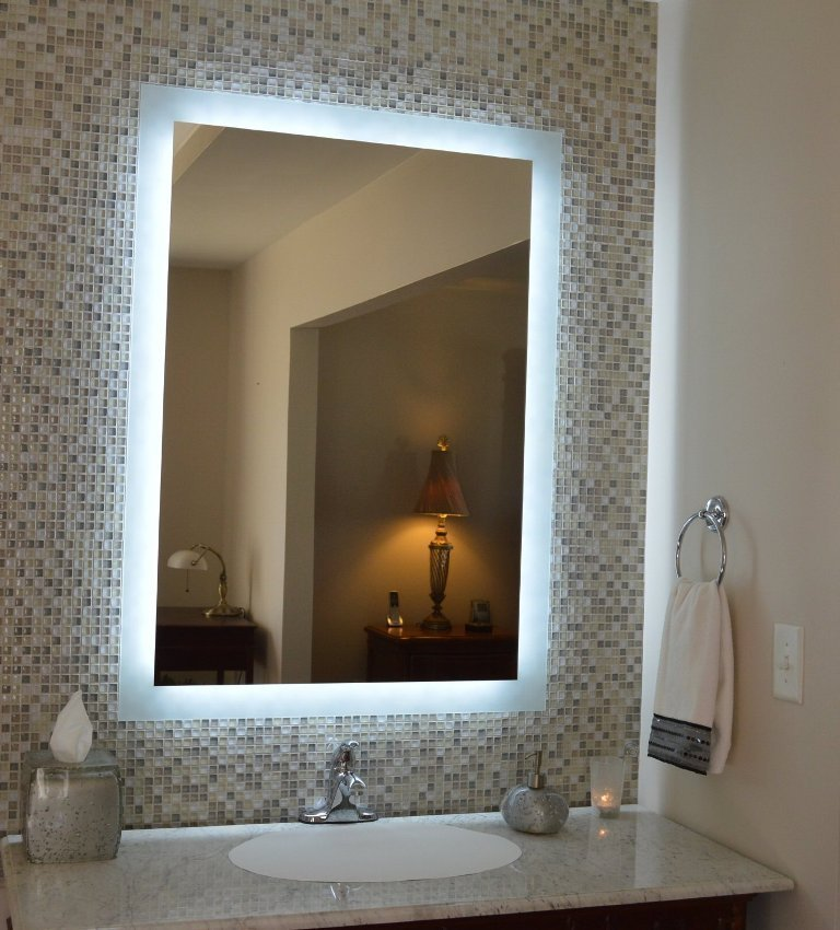35-Charming-Fabulous-Bathroom-Mirror-Designs-2015-3 50+ Charming & Fabulous Bathroom Mirror Designs 2020