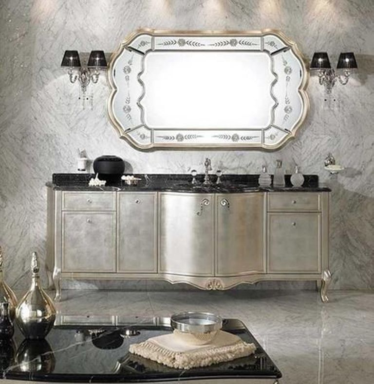 35-Charming-Fabulous-Bathroom-Mirror-Designs-2015-40 50+ Charming & Fabulous Bathroom Mirror Designs 2020
