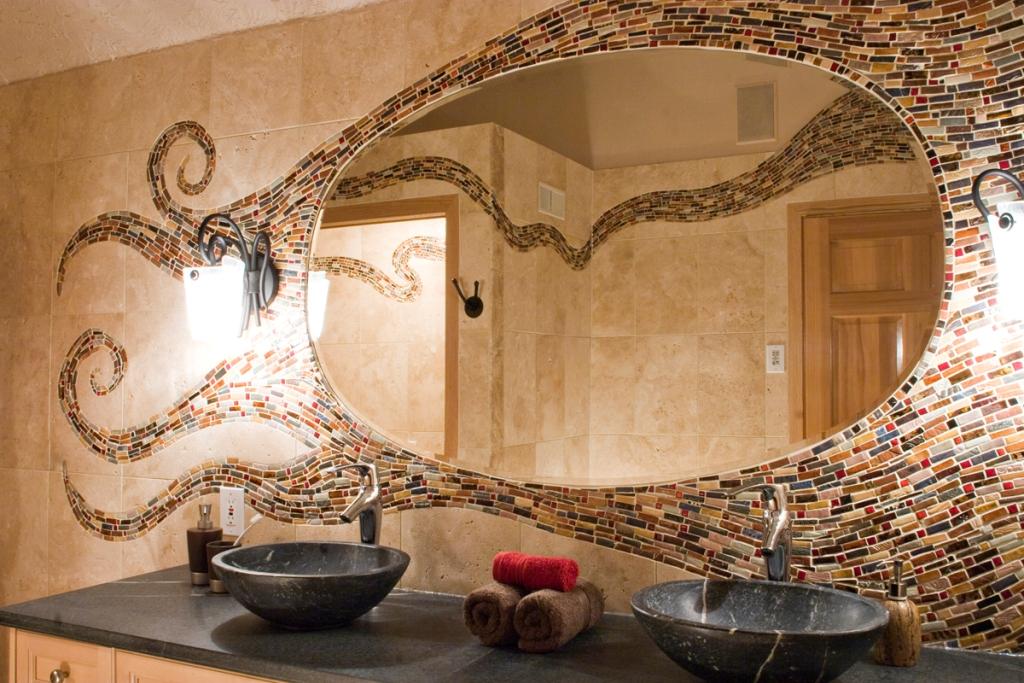 35-Charming-Fabulous-Bathroom-Mirror-Designs-2015-44 50+ Charming & Fabulous Bathroom Mirror Designs 2021