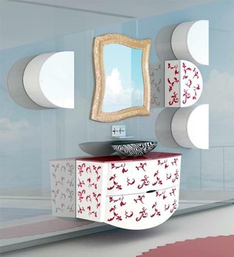 50 Charming & Fabulous Bathroom Mirror Designs 2015