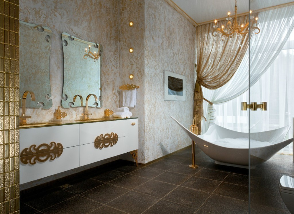 35-Charming-Fabulous-Bathroom-Mirror-Designs-2015-49 50+ Charming & Fabulous Bathroom Mirror Designs 2020