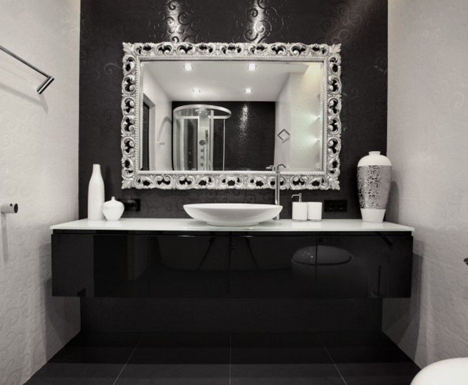 35-Charming-Fabulous-Bathroom-Mirror-Designs-2015-6 50+ Charming & Fabulous Bathroom Mirror Designs 2020