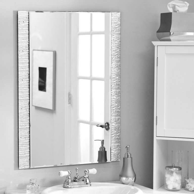 35-Charming-Fabulous-Bathroom-Mirror-Designs-2015 50+ Charming & Fabulous Bathroom Mirror Designs 2020