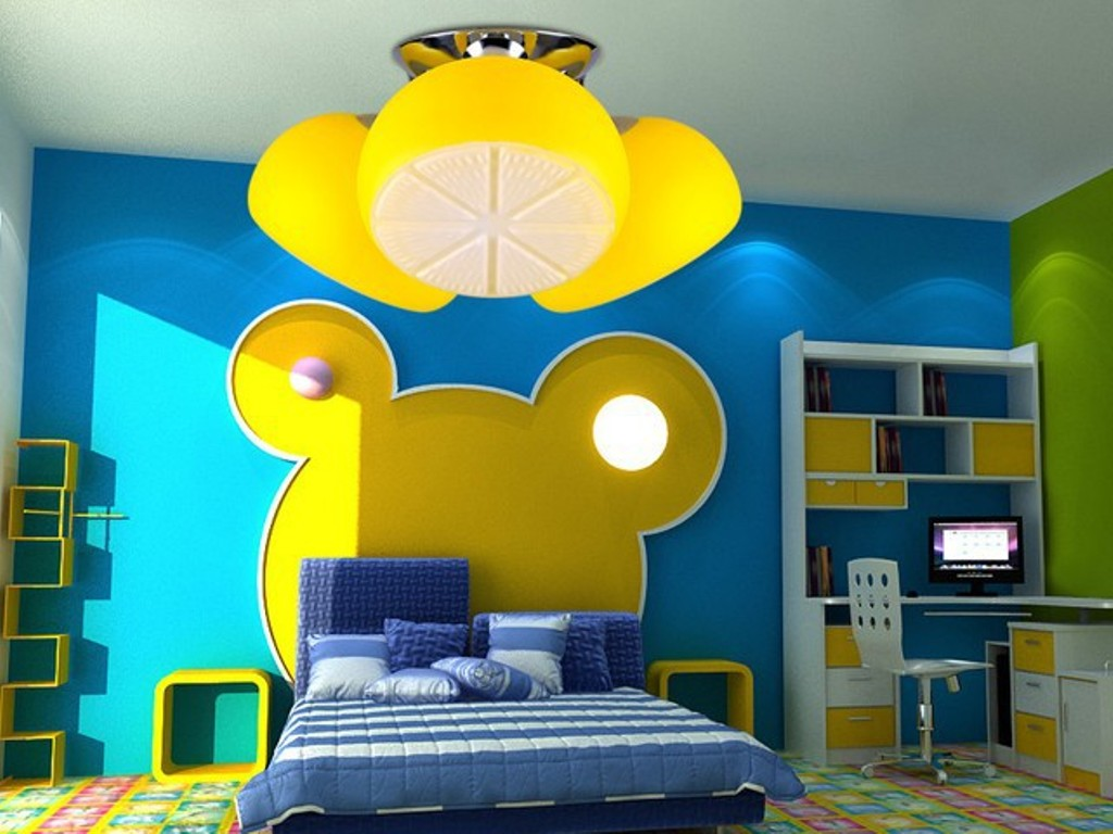 35-Creative-Dazzling-Ceiling-Lamps-for-Kids'-Room-2015-14 38+ Creative & Dazzling Ceiling Lamps for Kids' Room 2020