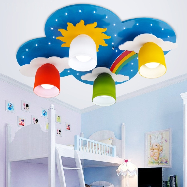 35-Creative-Dazzling-Ceiling-Lamps-for-Kids'-Room-2015-20 38+ Creative & Dazzling Ceiling Lamps for Kids' Room 2020