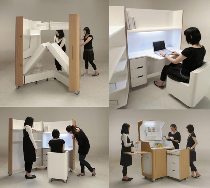 35-Creative-Unbelievable-Space-Saving-Furniture-Pieces-27 37 Creative & Unbelievable Space Saving Furniture Pieces