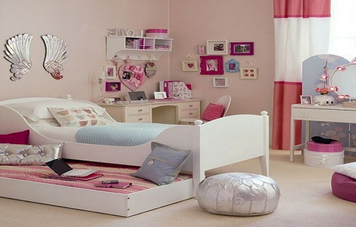 35-Dazzling-Amazing-Girls-Bedroom-Design-Ideas-2015-11 34 Dazzling & Amazing Girls' Bedroom Design Ideas 2019
