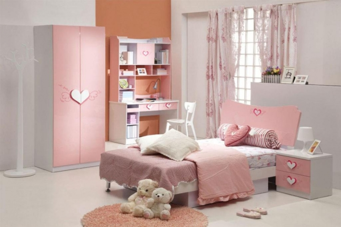 35-Dazzling-Amazing-Girls-Bedroom-Design-Ideas-2015-14 34 Dazzling & Amazing Girls' Bedroom Design Ideas 2020