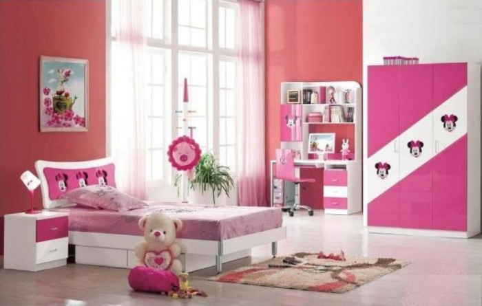 35-Dazzling-Amazing-Girls-Bedroom-Design-Ideas-2015-15 34 Dazzling & Amazing Girls' Bedroom Design Ideas 2019