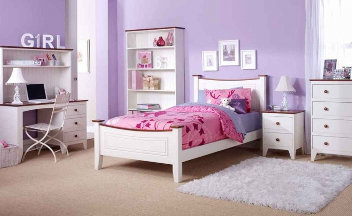 35-Dazzling-Amazing-Girls-Bedroom-Design-Ideas-2015-16 34 Dazzling & Amazing Girls' Bedroom Design Ideas 2019
