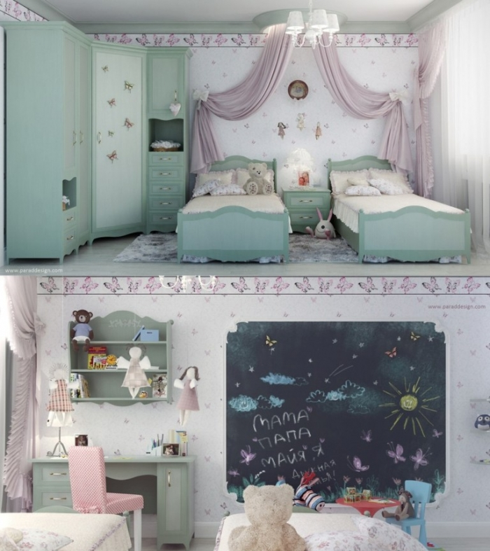 35-Dazzling-Amazing-Girls-Bedroom-Design-Ideas-2015-18 34 Dazzling & Amazing Girls' Bedroom Design Ideas 2019